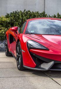 McLaren 540C Front links #MotorMag