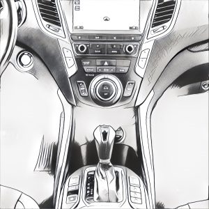 Hyundai Tucson Manga