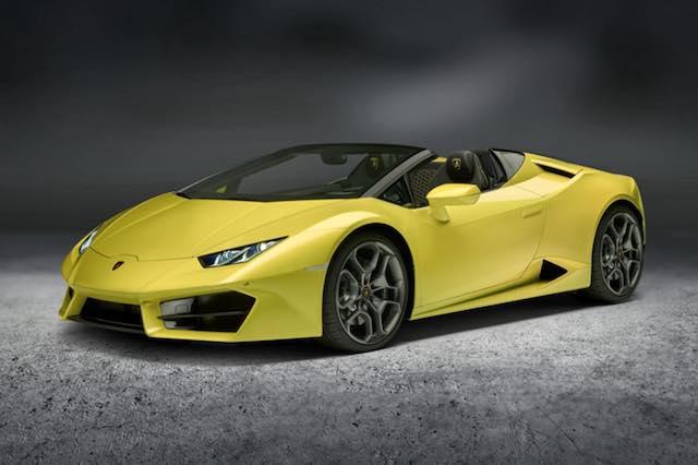 Lamborghini Huracan Spyder mit Heckantrieb
