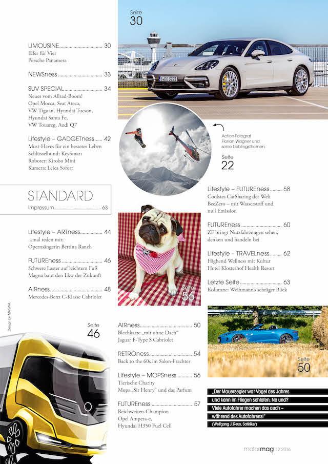 MotorMag Inhalt von Ausgabe 06
